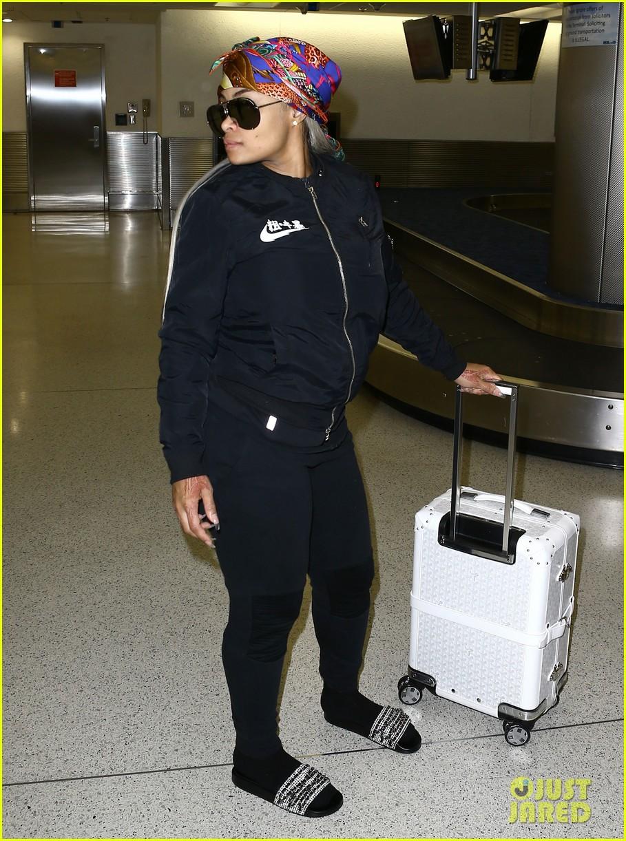 rob kardashian pregnant blac chyna miami airport 073653037
