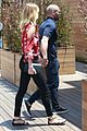 rosie huntington whiteley jason statham hold hands malibu 11