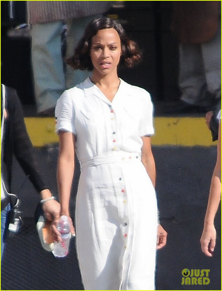 Zoe Saldana Joins Ben Affleck for 'Live By Night' Re-Shoots Zoe Saldana