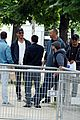 leo dicaprio braves flooded paris streets 13