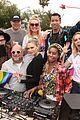 erin sara foster ride a bus in la pride parade 19