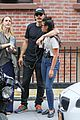 james franco gets cozy with a female friend after lunch 03