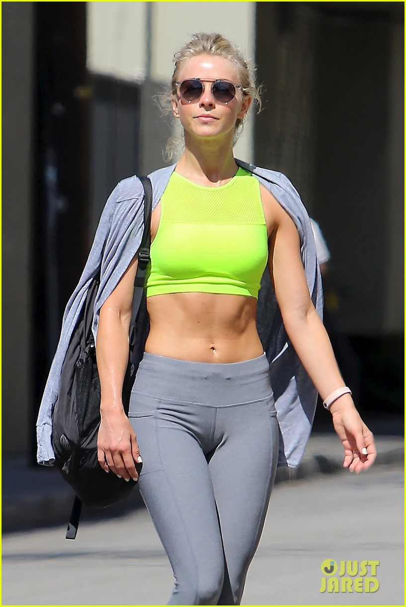 Julianne Hough Hits The Gym After 'Grease' Mini-Reunion: Photo 3684246 ...