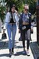 kendall jenner gigi hadid out sunny west hollywood 07