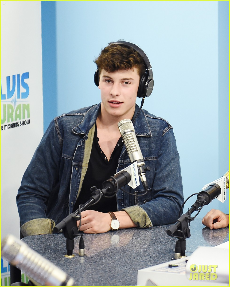Shawn Mendes Promotes New Single 'Treat You Better' in NYC