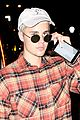 justin bieber leaves catch restaurant nyc 07