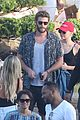 miley cyrus liam hemsworth leave nobu sunday 39