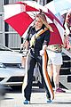 hilary duff films younger in same outfit as cheryl 19