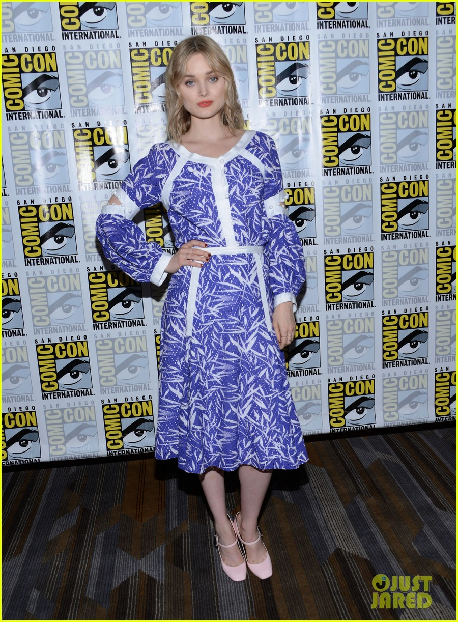bella heathcote teases man in the high castle season at comic bella heathcote teases man in the high castle season 2 at comic con watch trailer