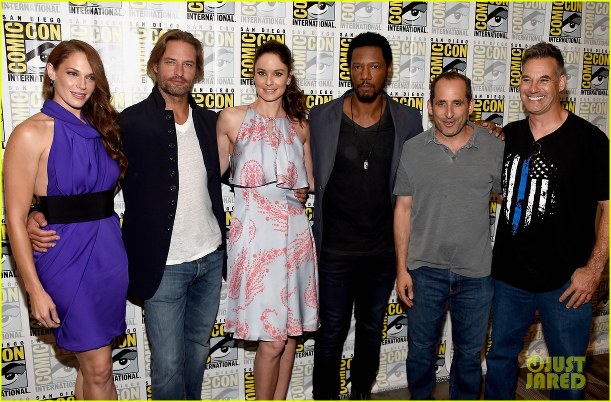 About this photo set: Josh Holloway poses with his co-stars while attending a 2016 Comic-Con panel for his show Syfy show Colony on Thursday (July 21) in San Diego, Calif. The 47-year-old… Read More Here