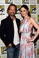josh holloway sarah wayne callies colony comic con 13