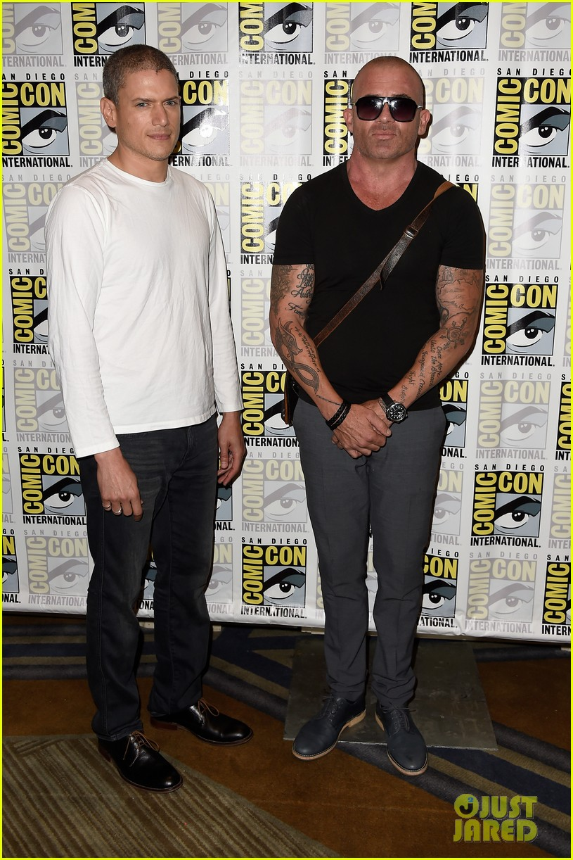 About this photo set: Wentworth Miller and Dominic Purcell pose for photos together during the Fox Action Showcase with for Prison Break during 2016 Comic-Con held at the Hilton Bayfront… Read More Here