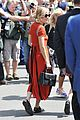 sienna miller orange beauty wimbledon 19