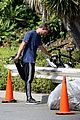 patrick schwarzenegger bike hike abby champion lunch 03