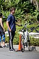 patrick schwarzenegger bike hike abby champion lunch 19