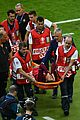 cristiano ronaldo injures knee euro game 12