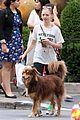 amanda seyfried walks dog in toronto 02