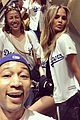 chrissy teigen john legend take luna to dodgers game 03