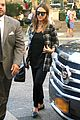 jessica alba plaid nyc errands 02