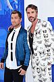 lance bass and robert sepulveda jr look sharp on the mtv vmas 2016 red carpet 05