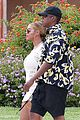 beyonce jay z hold hands boat italy 15