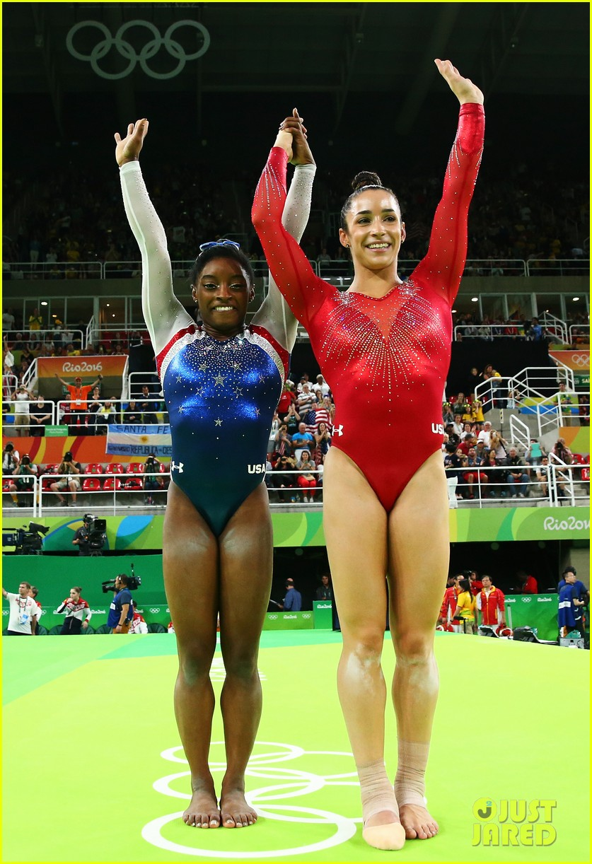 Watch Simone Biles U0026 Aly Raismanu0027s Amazing Floor Routines At Rio Olympics  2016 (Video)