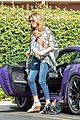 caitlyn jenner purple porsche woodland hills 03