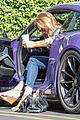 caitlyn jenner purple porsche woodland hills 07