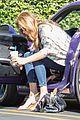 caitlyn jenner purple porsche woodland hills 11