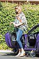 caitlyn jenner purple porsche woodland hills 28