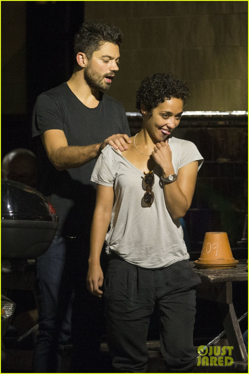 dominic cooper ruth negga have low key date night in london 023745367