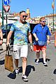 elton john david furnish vacation with children in st tropez 11
