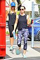 jennifer garner hits up a workout class in brentwood 11