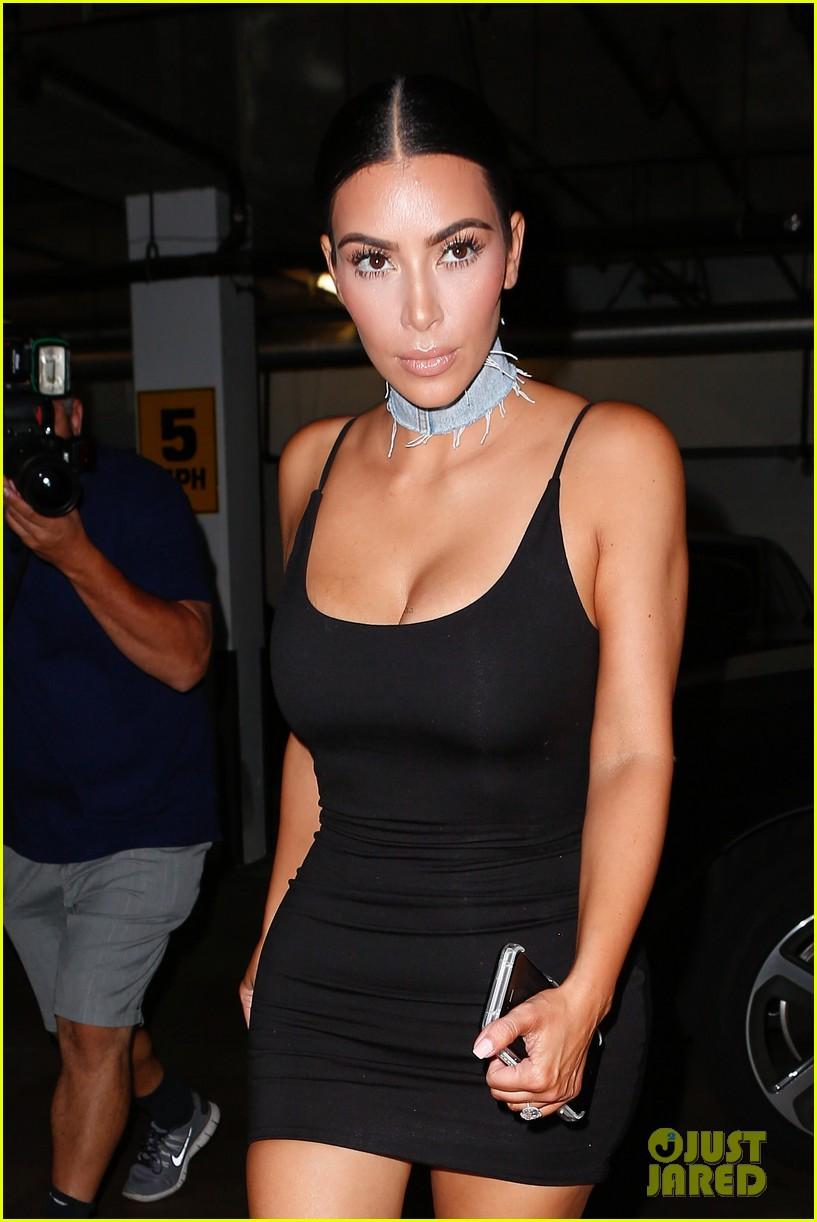 Dress black kim kardashian - Kim Kardashian Posts Cute Message For Kylie Jenner S Birthday Photo 3730763 Kim Kardashian Kylie Jenner Pictures Just Jared