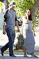 pregnant mila kunis wears form fitting dress 05