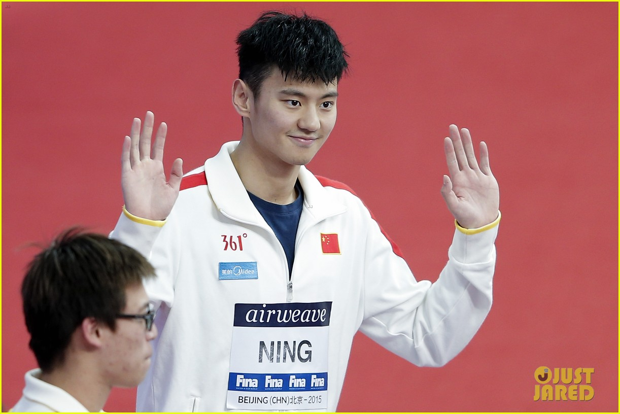 Chinese Swimmer Ning Zetao Has the Internet Thirsting Over