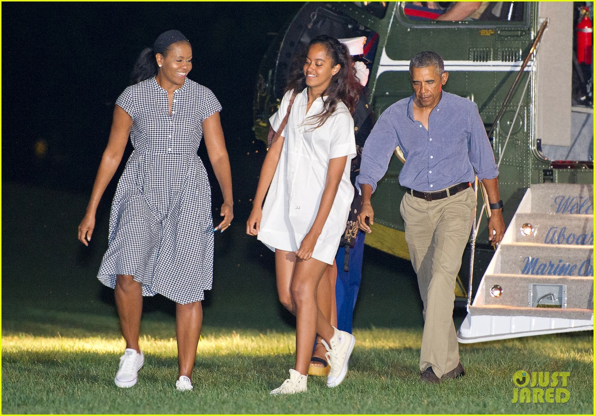 Barack Obama Obama Family Pictures to pin on Pinterest