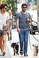 zachary quinto and miles mcmillan take their dogs for a walk in nyc 10
