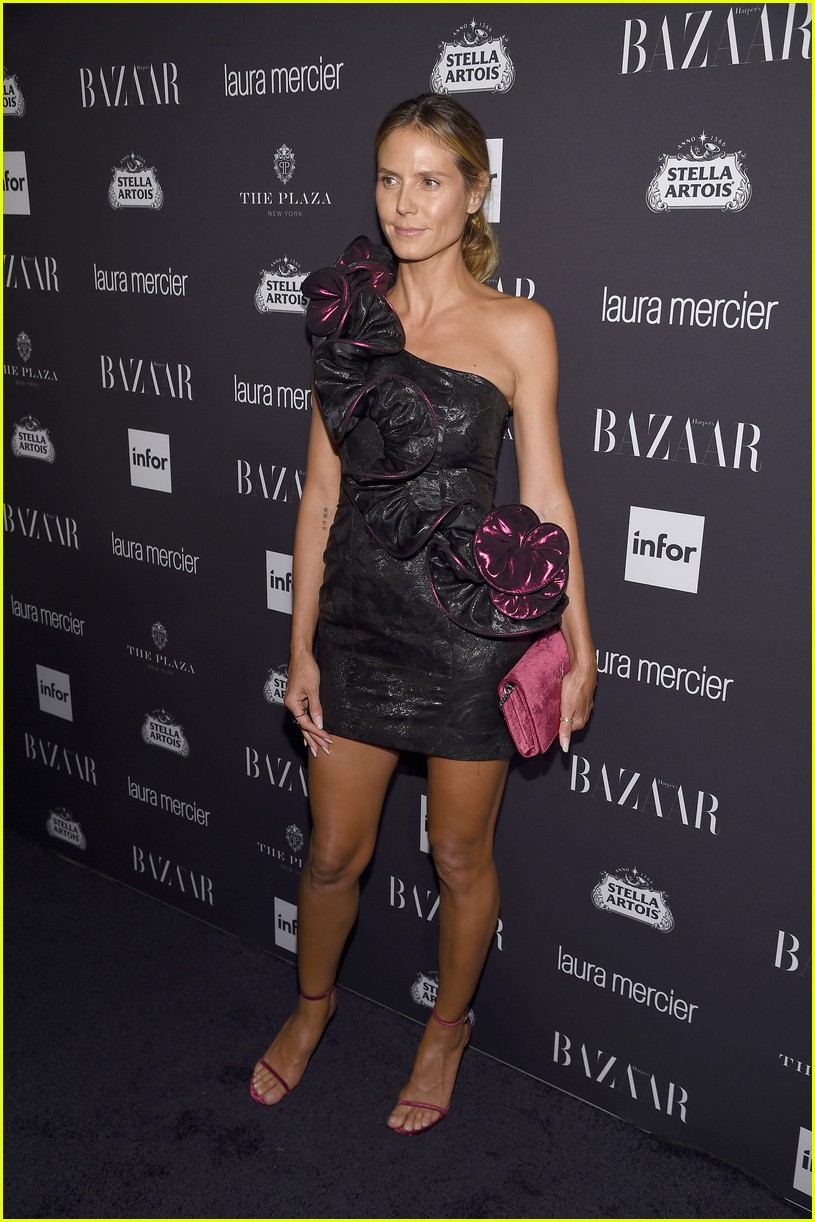 Harper s bazaar event looks more like a lingerie party page 12 - Adriana Lima Izabel Goulart Heidi Klum Get Chic At Harper S Bazaar Icons Party