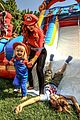 christina aguilera celebrates daughter birthday super mario bros 01