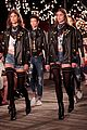 hailey baldwin taylor hill chanel iman tommy hilfiger nyfw show 23