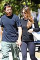 christian bale sibi blazic step out for lunch 02