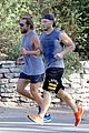 bradley cooper wears hair in man bun for morning run 22