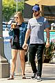 chace crawford and rebecca rittenhouse step out for breakfast and furniture shopping 15