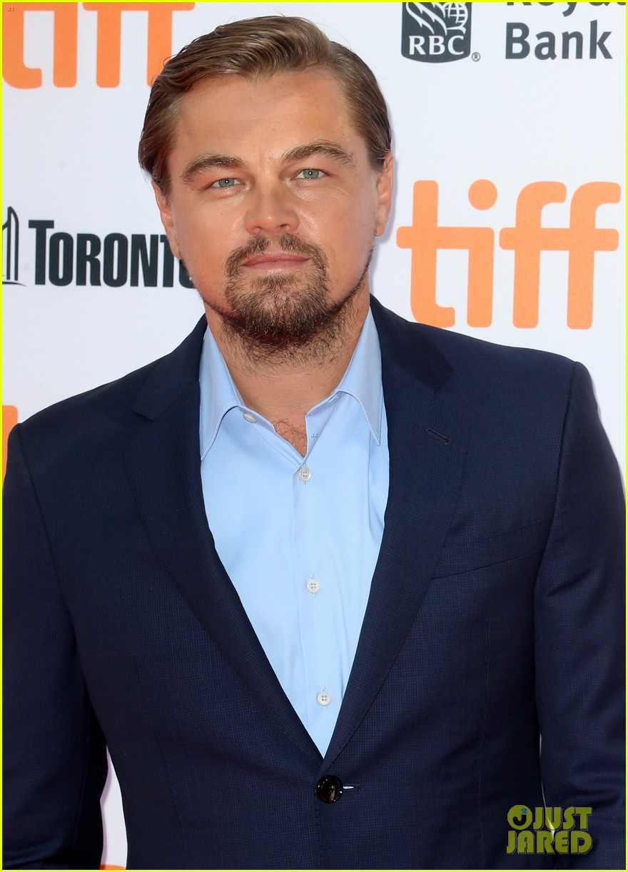 Leonardo DiCaprio Suits Up for 'Before the Flood' TIFF Premiere: Photo 3754195 | 2016 Toronto Film Festival, Brett Ratner, Fisher Stevens, Leonardo DiCaprio ...