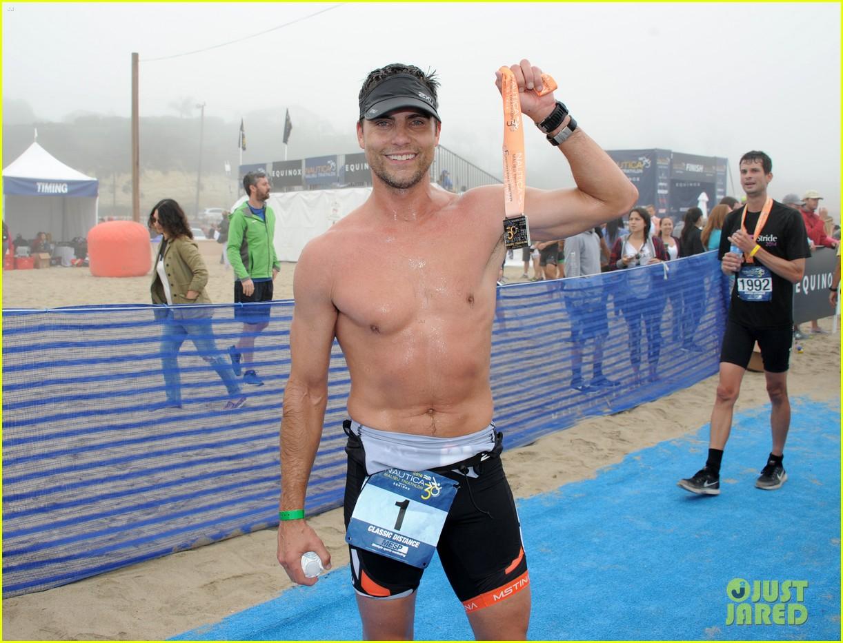 james marsden zac efron among celebs malibu triathlon 033763366
