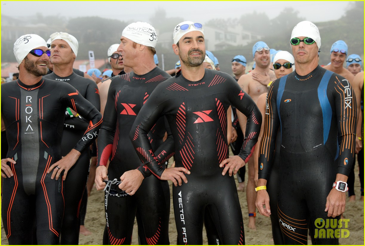 james marsden zac efron among celebs malibu triathlon 333763396