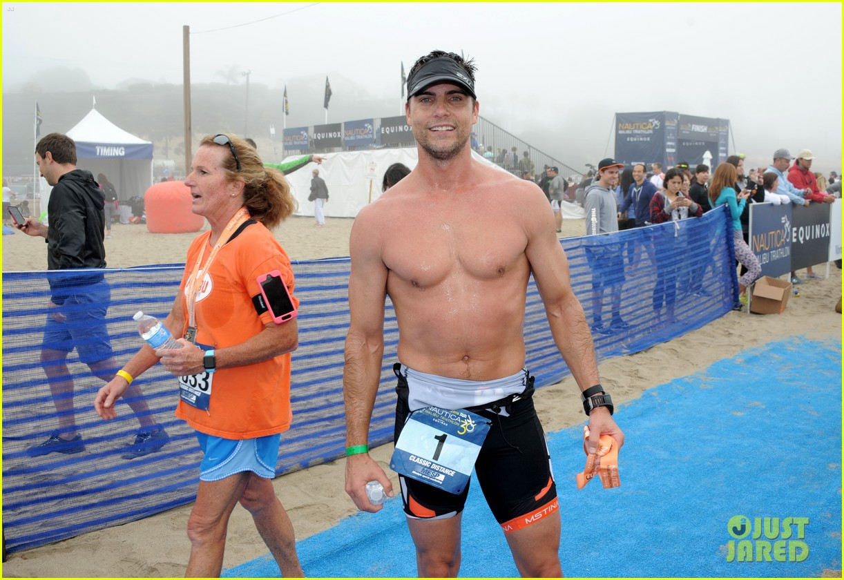 james marsden zac efron among celebs malibu triathlon 383763401