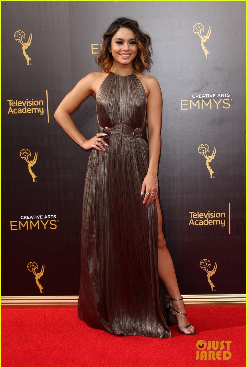 Full Sized Photo of vanessa hudgens julianne hough grease ... Emmys 2016