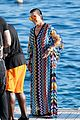 kourtney kardashian waterslides off a yacht with mom kris jenner corey gamble00522mytext